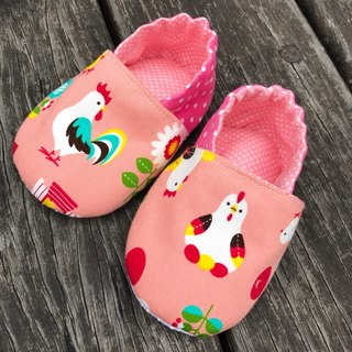 Chicken toddler shoes <Pink. Blue two colors>