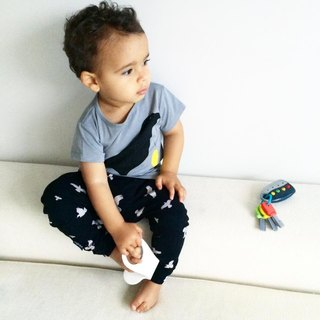 Nordic organic cotton children's wear leg pants Dadu duck for age 1Y-8Y