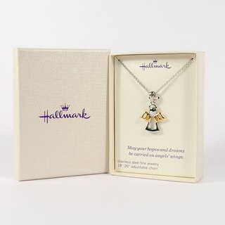 Angel Wings Necklace [Hallmark-Gift Necklace]