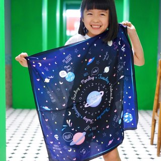 Children Planet Scarf | BABY GALAXY SCARF