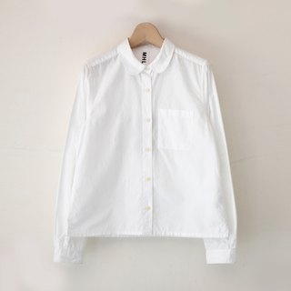 A ROOM MODEL -. VINTAGE, MHL shirt white shirt / CA-1887