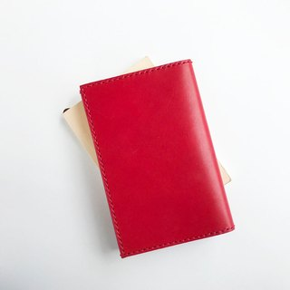Paperback cover red Tochigi Leather