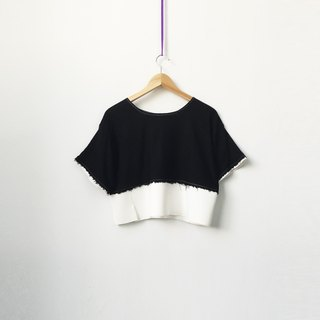 Black + White t-shirt