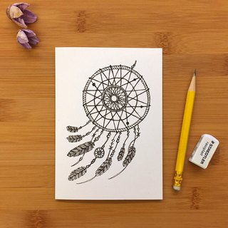 【LITTLE DIFFERENCE】DREAM CATCHER GREETING CARD