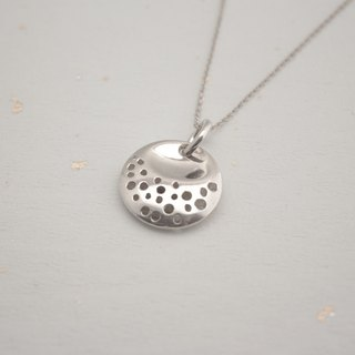 Southerly studio F017 circle the planet 925 silver pendant chain