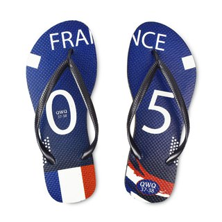 QWQ creative design flip-flops - France - female models [limited]