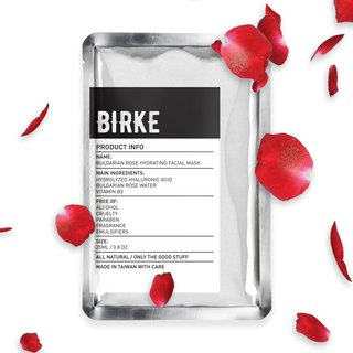 BIRKE 可 可 Bulgarian Rose Moisturizing Mask 5 In / Box
