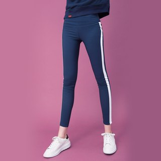 WOMENS SIDE STRIPES SKINNY LEGGING