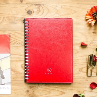 A5 Loose Leaf Removable Booklet-Red Cover