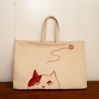 (DUO & Lele joint limited edition products) Curious cat small bag (limited edition)