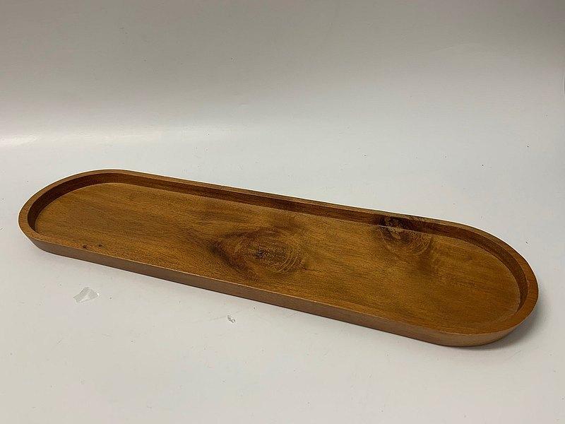 大理石衛浴組/長方形木頭托盤 / 浴室收納架 / 置物盤 / 收納盤
