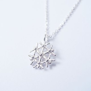Snow C 925 silver necklace / snowflake C NK