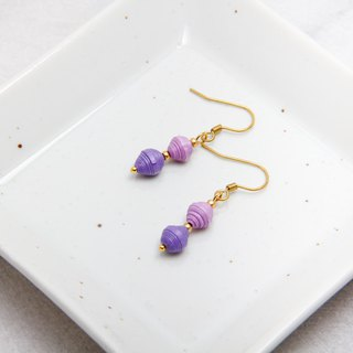 Elf Double Jade Drop Earrings in Lake (Multiple Color Option)
