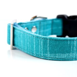 Ocean Dog Collar - Turquoise blue