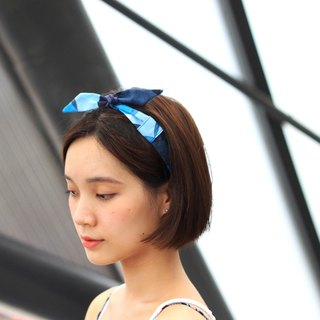 【The MAMA's Closet】Blue Bubble / Headband