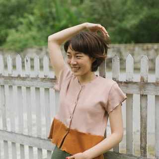 NUDE-BROWN BETTER SHIRT