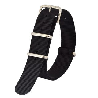 BOND STONE 18mm NATO nylon belt Black(36mm case only)