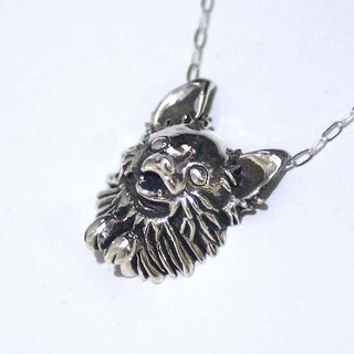 Chihuahua's solid pendant 【free shipping】 Dog Wanko Apple Head