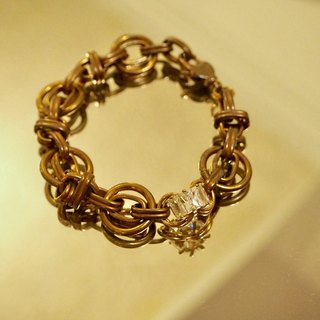 Love it is a gift pure brass bracelet