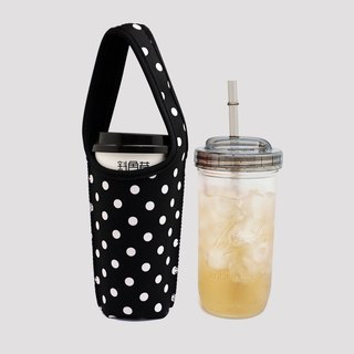 BLR environmental combination beverage bag 720ml wide mouth mason cup with cup lid straw