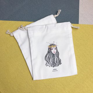 Drawstring Virgo Storage/Gift/Place/Constellation