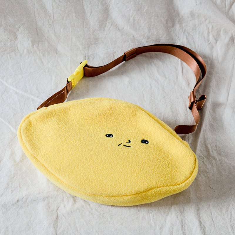 Lemon backpack / waist bag, chest back, cross-body bag