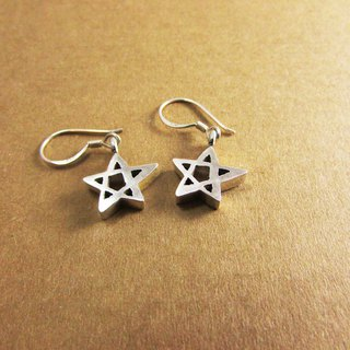 Estrella earring_star earrings 925 sterling silver limited designer hand with brand packaging