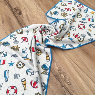 Cool towel - little sailor
