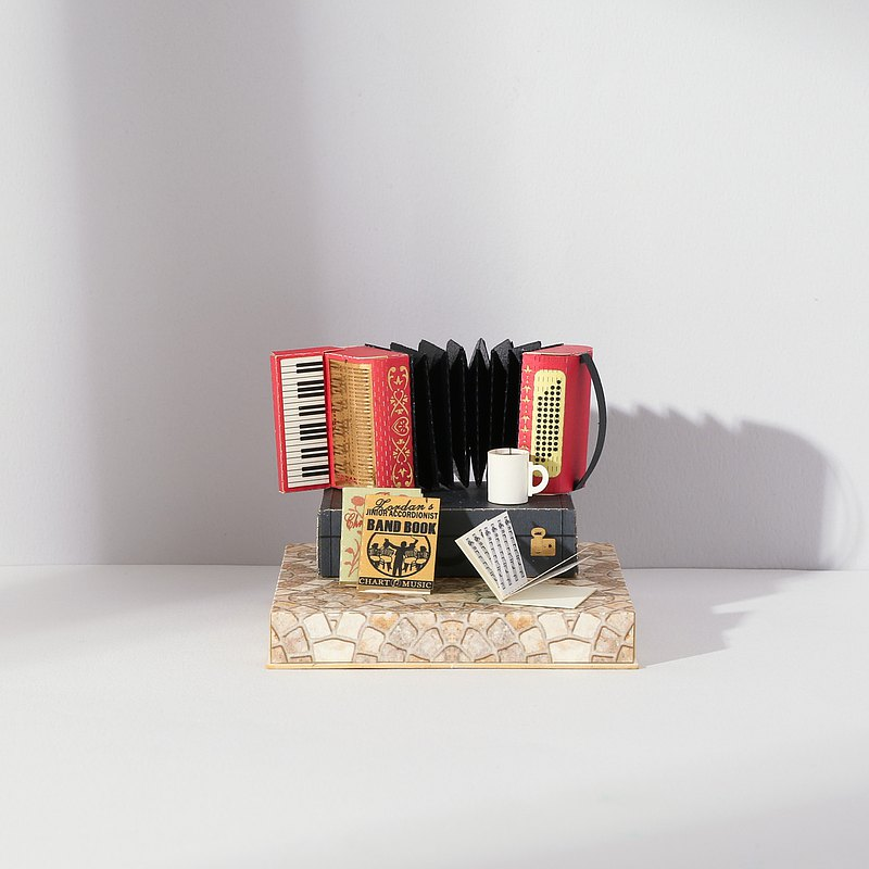 【Jeantopia】復古風DIY材料包 手風琴 | 9259307