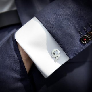 Wedding Cufflinks – Initials Cufflinks – Monogram Cufflinks – Groom Cufflinks