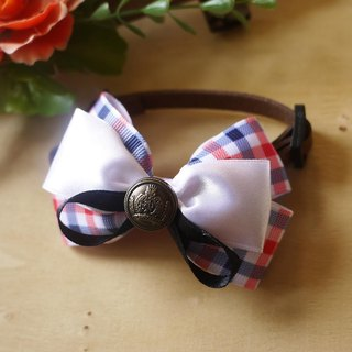 Safety x pet collar British Institute of wind cats and dogs / Collar / tie cherry pudding Cherry Pudding ♥ ♥