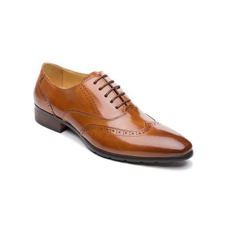 Kings Collection รองเท้าหนังแท้ Alston Oxford KV80061 สีน้ำตาล