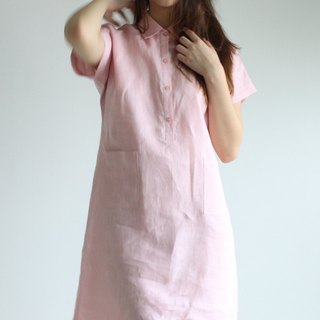 Made to order linen dress / linen clothing / long dress / casual dress E24D