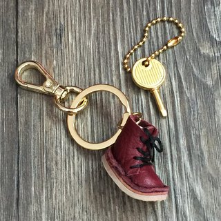 Nora Small Leather Keyring