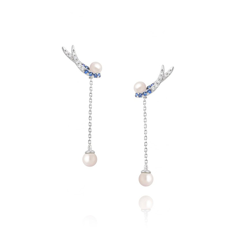 [brilliantia] 10K Cherished Wings - Earrings - (ET0087)