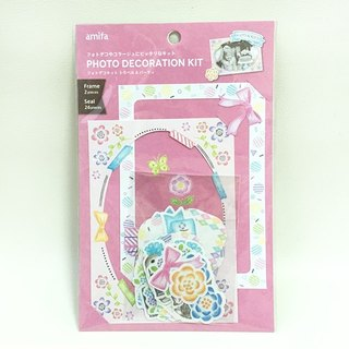 amifa group decorative stickers + photo frame [Party (34769)]