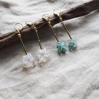 Fairy stick natural stone ear / ear clip (1)