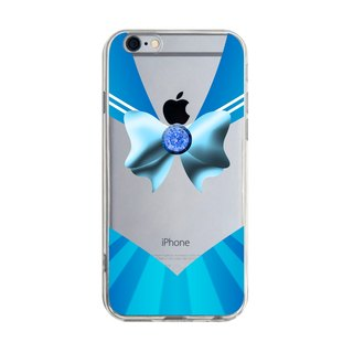 Custom color blue sailor suit transparent Samsung S5 S6 S7 note4 note5 iPhone 5 5s 6 6s 6 plus 7 7 plus ASUS HTC m9 Sony LG g4 g5 v10 phone shell mobile phone sets phone shell phonecase