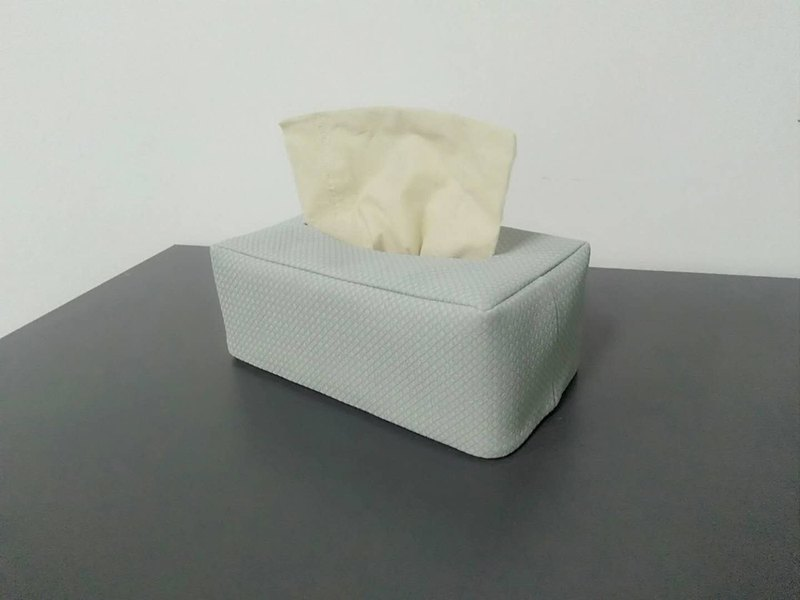 Rectangle Tissue Box Cover, Facial Tissue Holder, Soft Touch