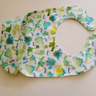 <Green> dinosaur birthday gift miracles gifts baby dining bib waterproof bibs
