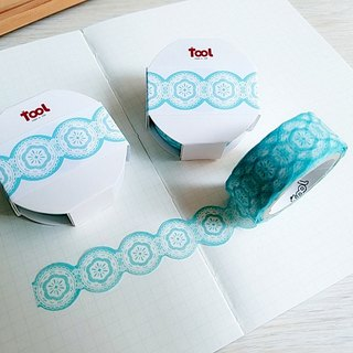 [TooL] Curved Tape ‧ Lace Blue Lace Blue / GTIN : 4713077972977
