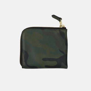 Tali Wallet Green camouflage