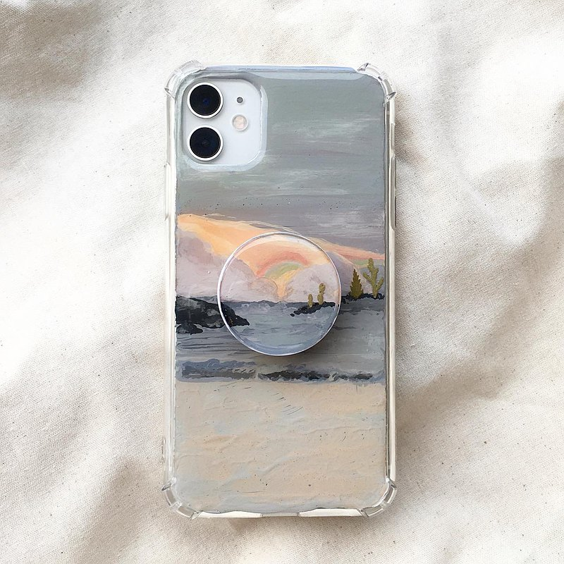 Boundless landscape project hand-painted phone case