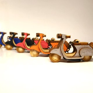 [Weishi locomotive] color classic retro ornaments