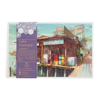 Fantascene Postcard Set By FeiGiap :Vol.3 (set of 8)