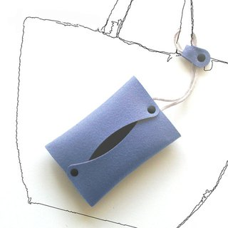Strap pocket type blue