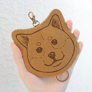 Dog-Dog Series - Wool Felt Key Holder Key sets/ Wool Felt Key Holder &lt; <Shiba Inu 柴犬> &gt; wool felt gogoro key sets