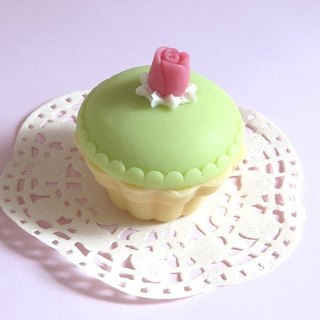 Small Rose Cup Cake Soap Gift Box -10 Box (MCA01)