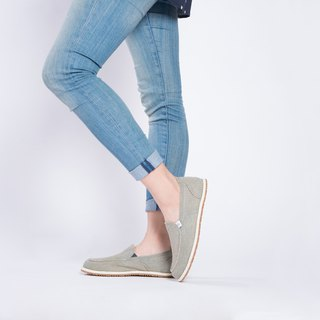Casual shoes Nantes series denim lazy shoes light blue girls