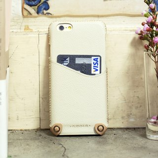iPhone 6/ 6S / 4.7 inch New Minimalist Series Leather Case - White